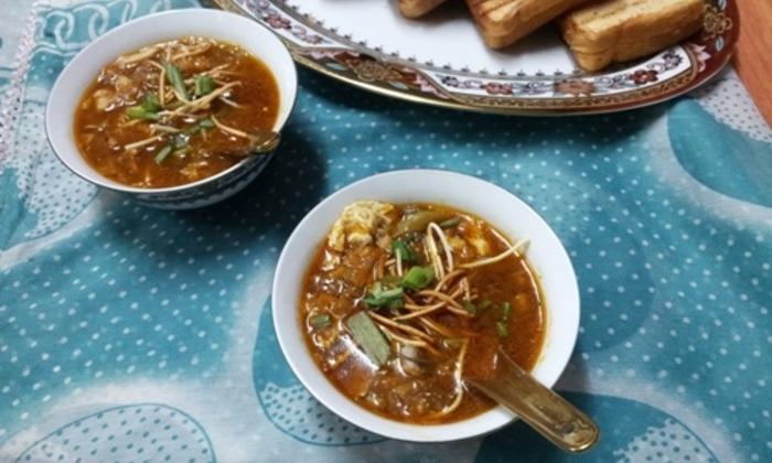 Рецепт суп Манчоу